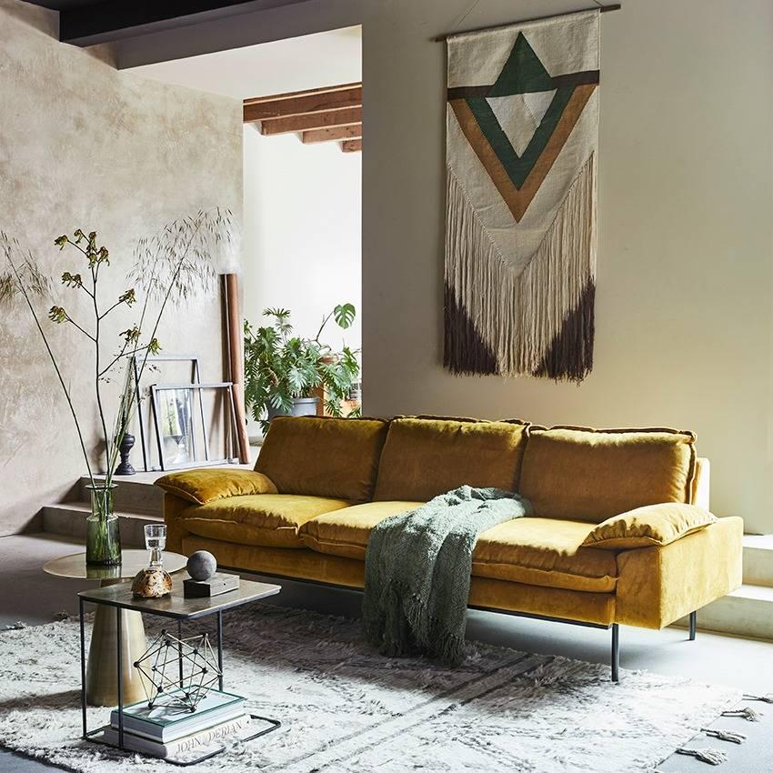 Hk Living Berber Teppich Handgewebt Wolle Grau Weiss 120x180cm