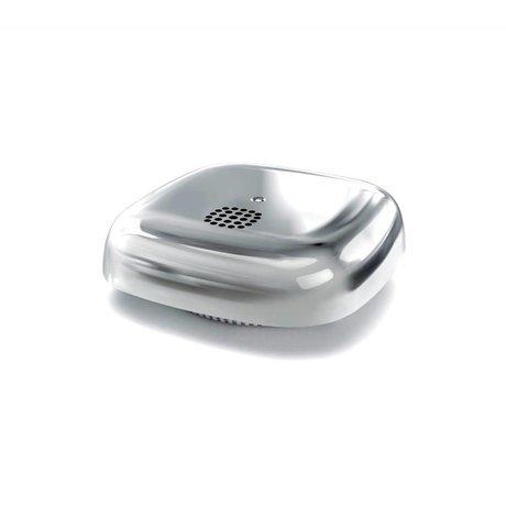 Jalo Los detectores de humo 10 Kupu plata fotocrómico de plástico 11x11x3,9cm