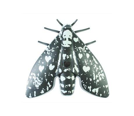 Jalo Lento 10 siyah plastik 18,8x18,4x5cm Duman