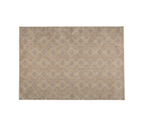Zuiver Teppich Gnade beige Textil-230x160cm