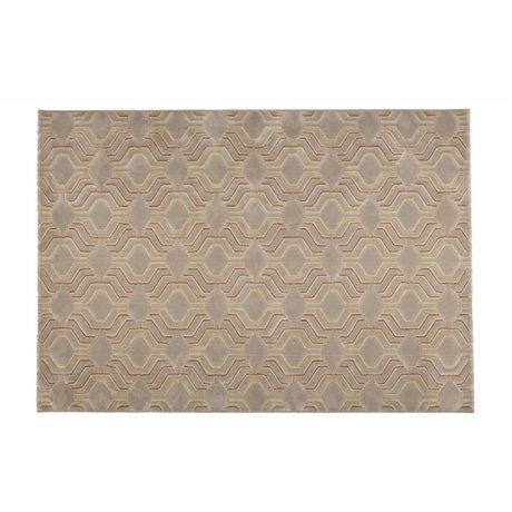 Zuiver Tæppe nåde beige tekstil 230x160cm