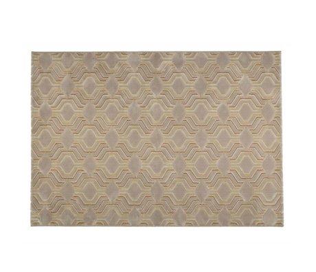 Zuiver grâce Tapis 290x200cm textile beige