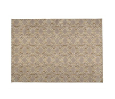 Zuiver Teppich Gnade beige Textil-290x200cm