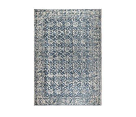 Zuiver Tapis Malva denim bleu coton 240x170cm