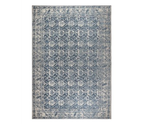 Zuiver Carpet Malva Denim blue cotton 300x200cm