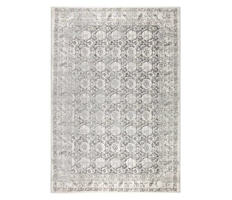 Zuiver Tapis Malva grau coton 300x200cm
