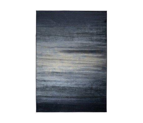 Zuiver Obi blåt tæppe tekstil 240x170cm