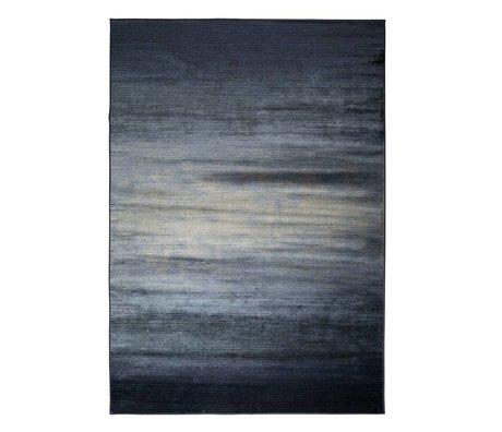 Zuiver Obi blåt tæppe tekstil 300x200cm