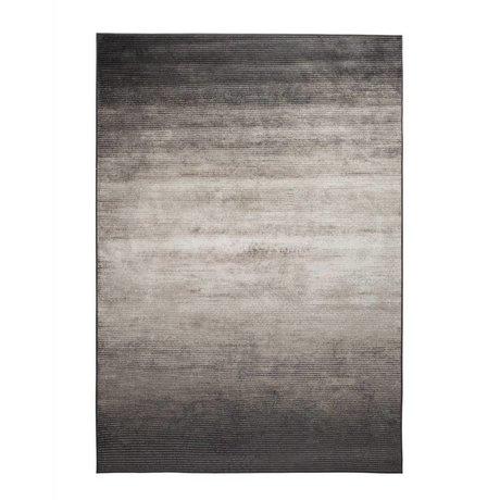 Zuiver Obi grå tæppe tekstil 300x200cm