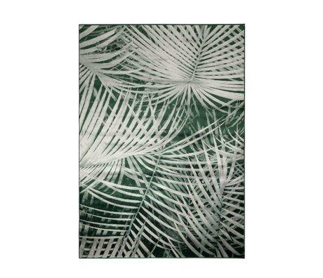 Zuiver Alfombra de Palm desde el primer día 240x170cm textil verde