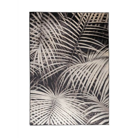 Zuiver Tappeto Palm notte nera 240x170cm tessile