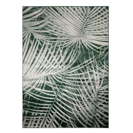 Zuiver Tæppe Palm fra dag grøn tekstil 300x200cm