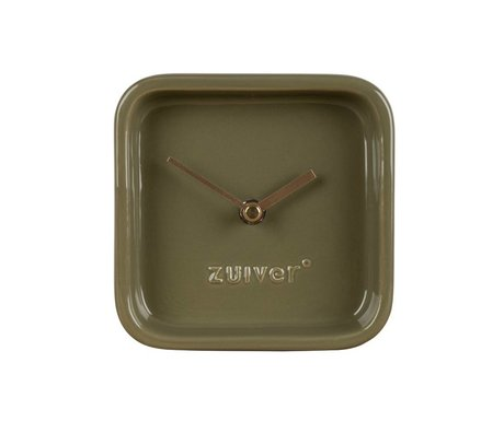 Zuiver Saat sevimli yeşil seramik 13,5x6x13,5cm