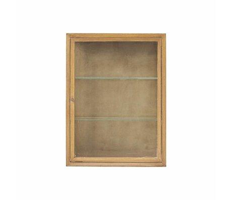 Housedoctor Cabinet brun naturel chêne 660X22x80cm