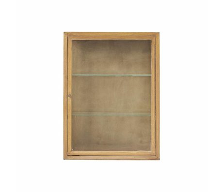 Housedoctor Cabinet natural brown oak 660X22x80cm