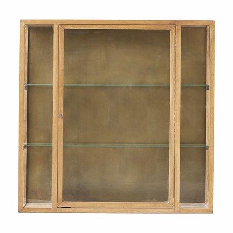 Housedoctor Kabinett natürliche braune Eiche 100x22x100cm
