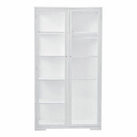 Housedoctor gabinete de Fox 120x55x220cm madera blanca
