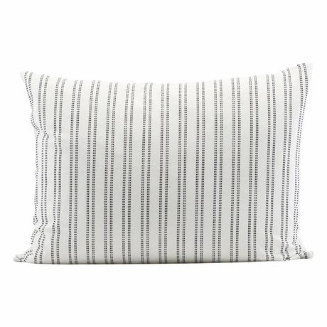 Housedoctor Kussenhoes additionel 80x60cm cotone bianco