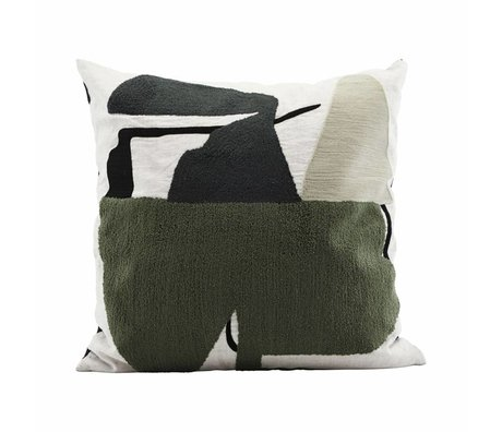 Housedoctor Tipo de almohada multicolor algodón 50x50cm