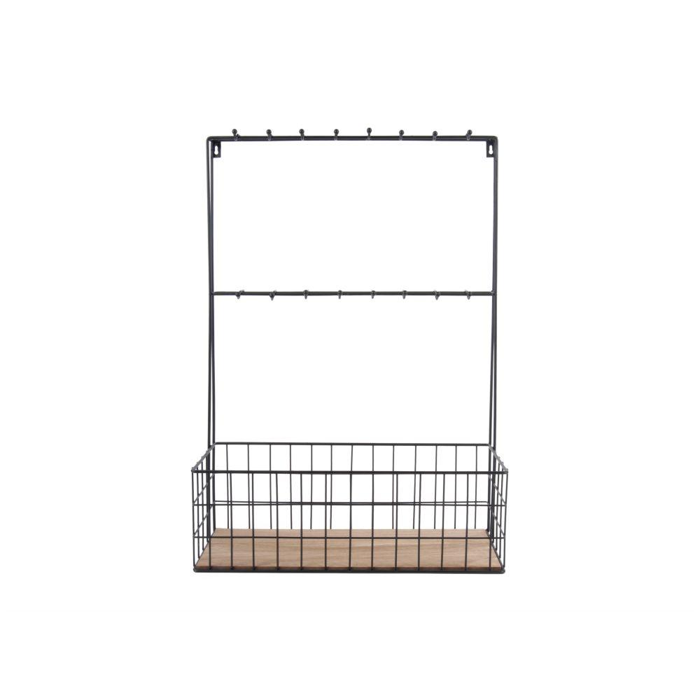 pt k chenregal schwarz metall 63x45x19cm. Black Bedroom Furniture Sets. Home Design Ideas