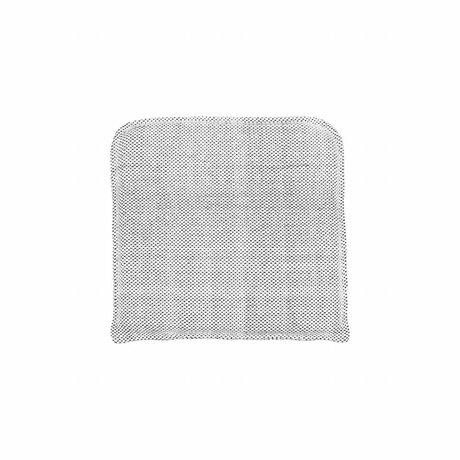 Housedoctor Coon gris de algodón funda de almohada 48x48cm