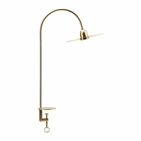 Housedoctor Table lamp Glow brass gold metal 79cm