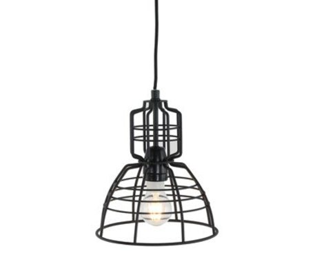 Anne Lighting Hanglamp Anne MarkllI mini ø20x24cm black metal