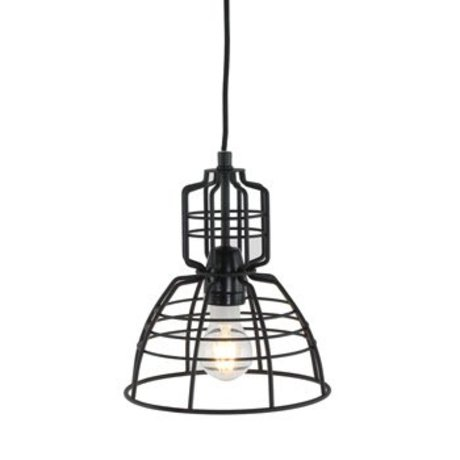 Anne Lighting Hanglamp Anne MarkllI Mini ø20x24cm de metal negro
