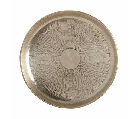 Housedoctor Kaset bölmek altın metal Ø30cmx1,5cm