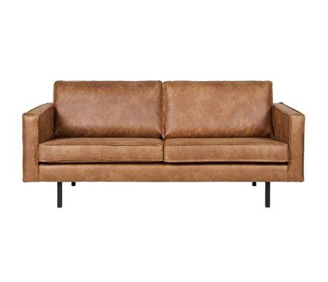 BePureHome Sofa Rodeo 2,5 sæde, cognacfarvet læder 190x86x85cm