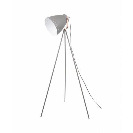 Leitmotiv Lámpara de pie Mingle metal gris x145cm Ø26,5