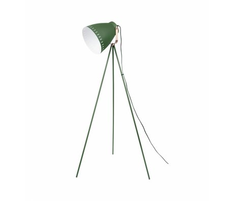 Leitmotiv Lampadaire Mingle métal vert 26,5 x145cm