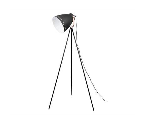 Leitmotiv Karıştırmak zemin lambası siyah metal 26,5x145cm