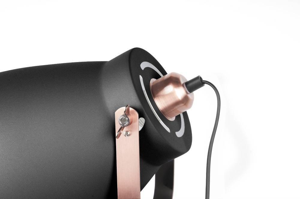 leitmotiv stehlampe mingle schwarz metall 26 5x145cm. Black Bedroom Furniture Sets. Home Design Ideas