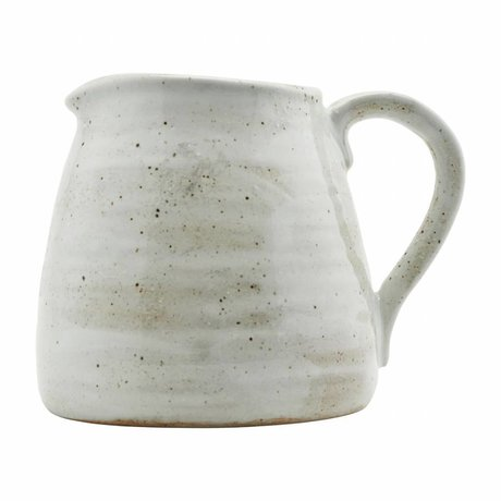 Housedoctor Jug made ivory white porcelain 15cm