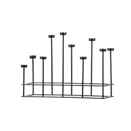 BePureHome Mum siyah metal 40x58,5x17,5cm çevreleyen