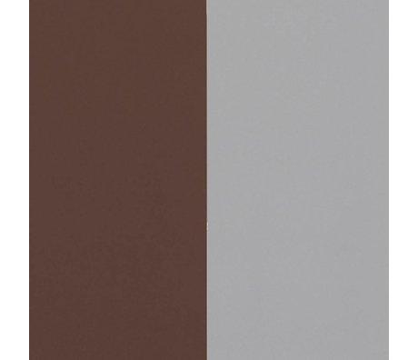 Ferm Living Duvar kağıdı Kalın Hatları bordo gri 53x1000cm