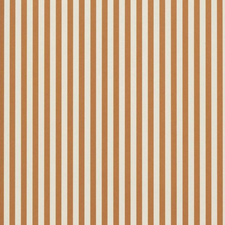 Ferm Living Wallpaper Thin Lines ocher yellow cream white 53x1000cm