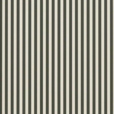 Ferm Living Las líneas delgadas papel pintado de crema verde 53x1000cm blanco