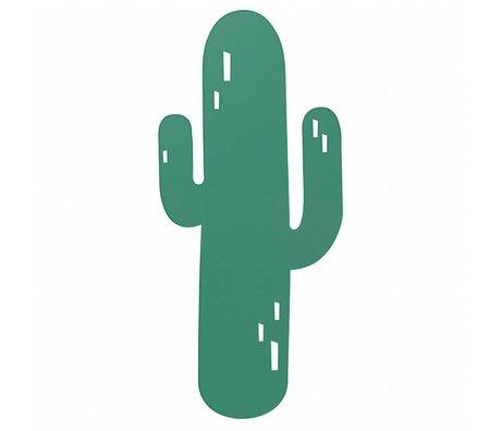 Ferm Living Væglampe Cactus grøn eg 21x47cm