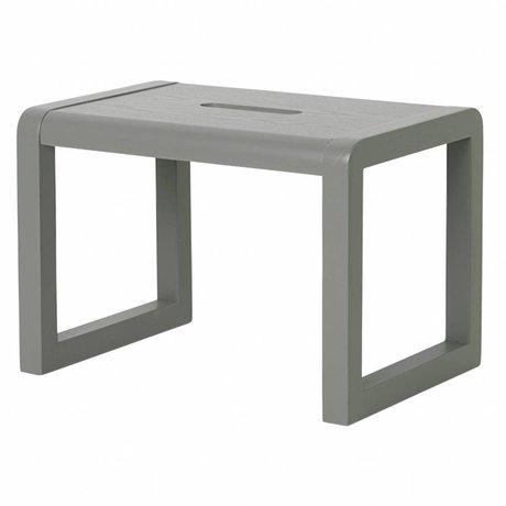 Ferm Living Chair Little Architect gray wood 33x23x23cm