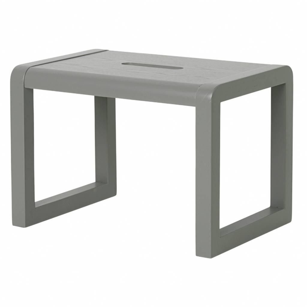 stuhl kleiner architekt grau holz 33x23x23cm. Black Bedroom Furniture Sets. Home Design Ideas