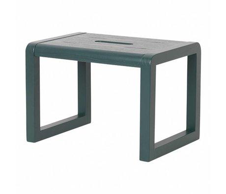 Ferm Living Sandalye Küçük Mimar lacivert ahşap 33x23x23cm