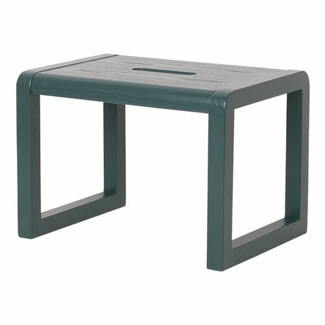 Ferm Living Chair Little Architect dark blue wood 33x23x23cm