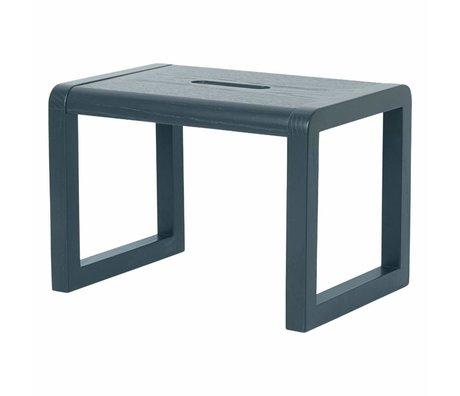 Ferm Living Sandalye Küçük Mimar koyu yeşil ahşap 33x23x23cm