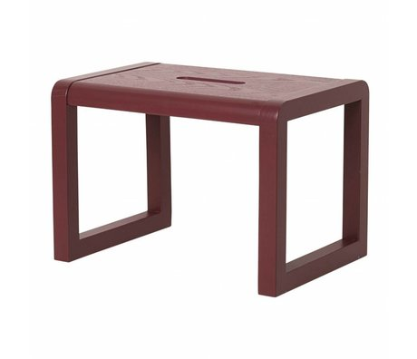 Ferm Living LITTLE Architecte Bois claret 33x23x23cm