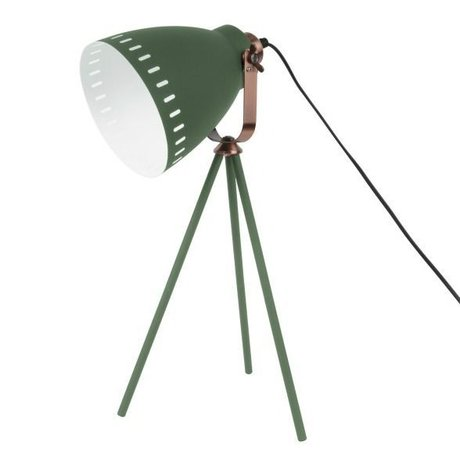Leitmotiv Bordlampe Mingle grøn metal Ø16.5x54x31cm
