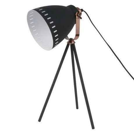 Leitmotiv Mingle bordlampe black metal Ø16.5x54x31cm