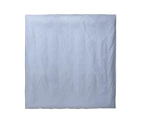 Ferm Living Housse de couette Hush bleu clair 220x220cm