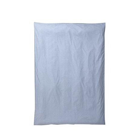 Ferm Living Housse de couette Hush bleu clair 150x210cm